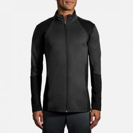 Jacken und Westen | Herren Brooks Turbine Full Zip Noir