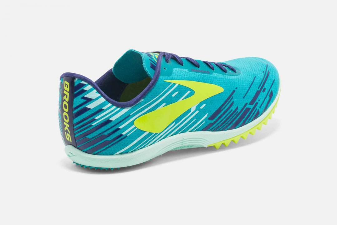 Track & Cross-Country | Damen Brooks Mach 18 Spikeless Bleu