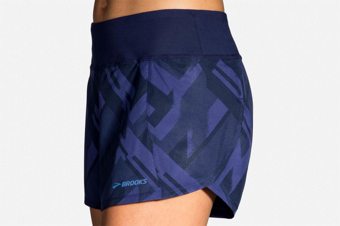 Laufhosen | Damen Brooks Chaser 5″ Short Bleu