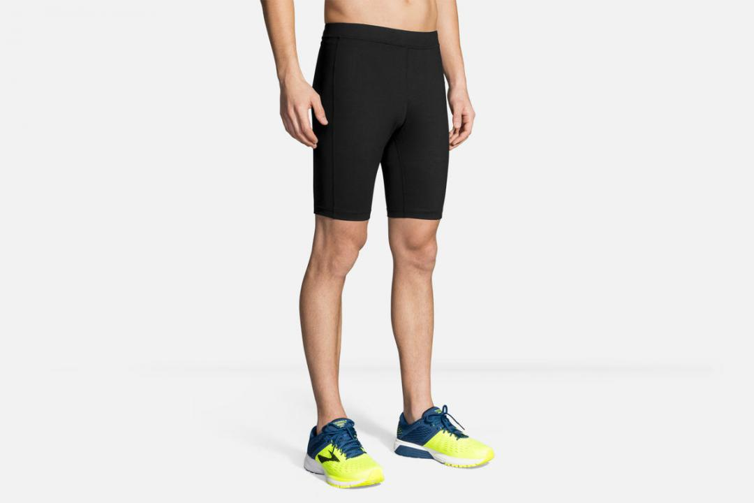 Laufhosen | Herren Brooks Greenlight 9″ Short Running Tight Noir