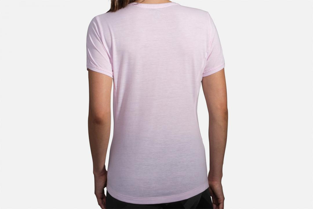 Bekleidung | Damen Brooks Distance Short Sleeve Violet