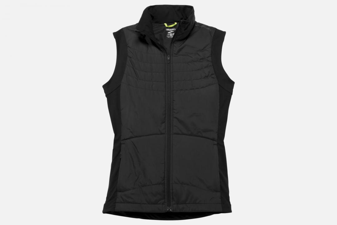 Jacken und Westen | Damen Brooks Cascadia Thermal Vest Gris