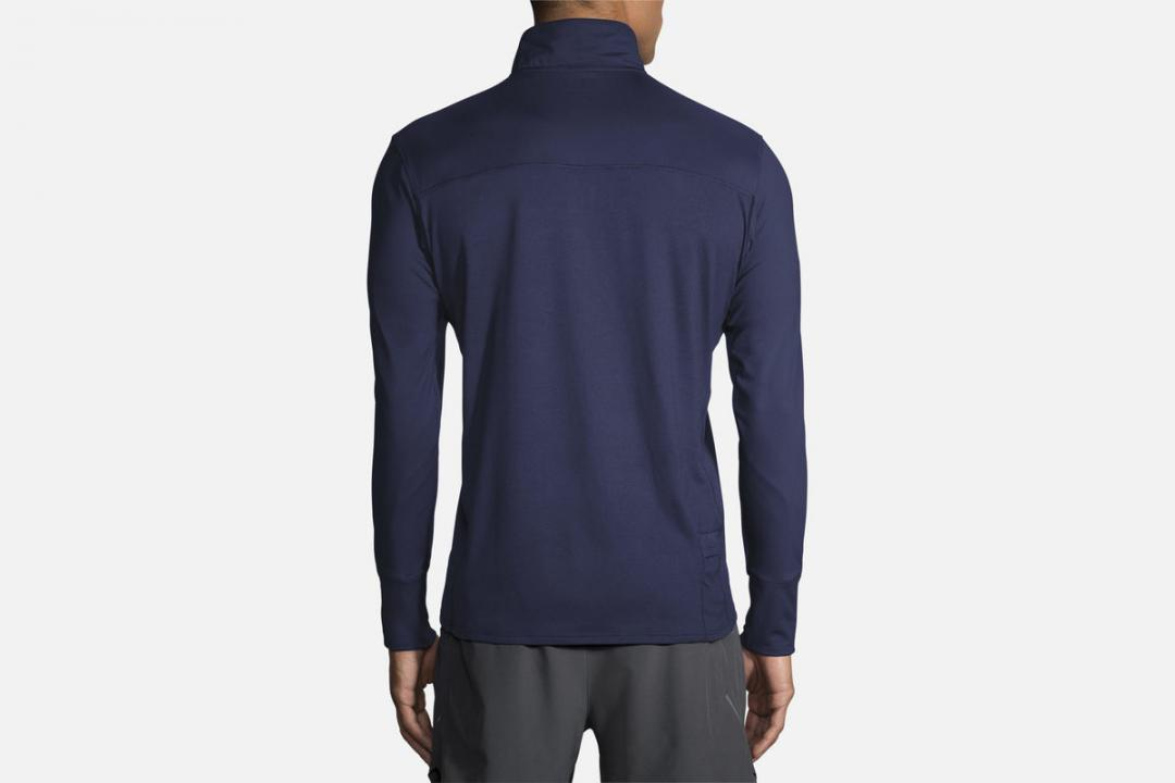 Jacken und Westen | Herren Brooks Dash 1/2 Zip Bleu