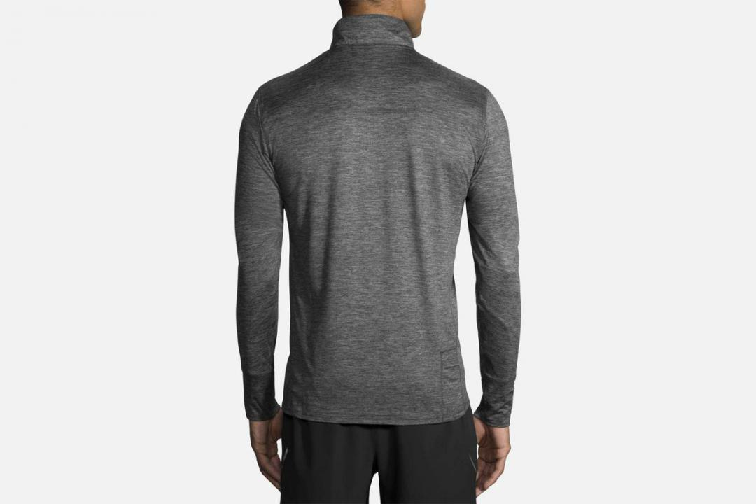 Jacken und Westen | Herren Brooks Dash 1/2 Zip Gris