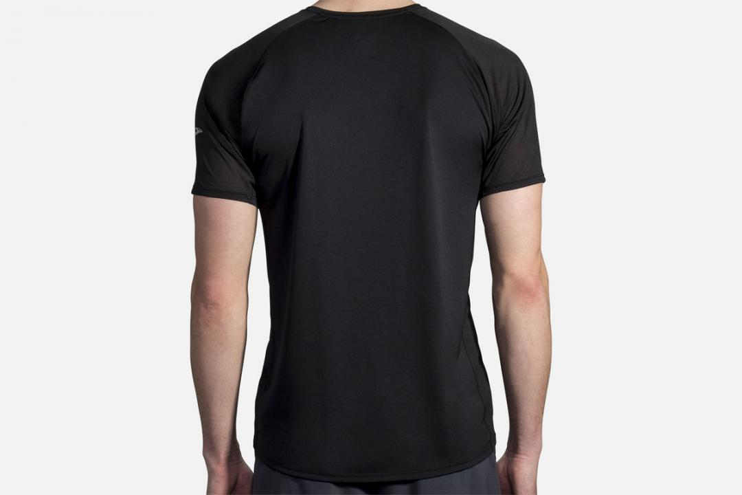 Jacken und Westen | Herren Brooks Stealth Short Sleeve Noir
