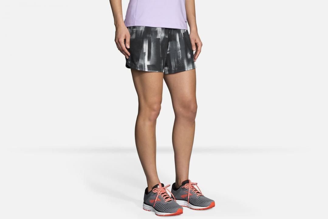 Laufhosen | Damen Brooks Chaser 5″ Short Orange