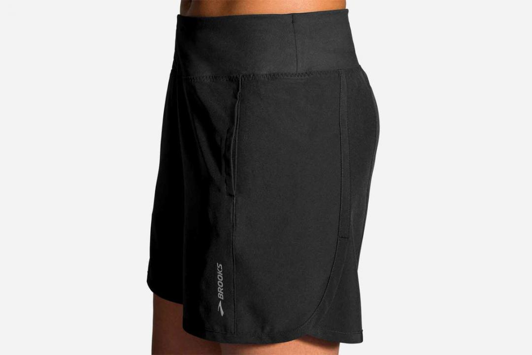 Laufhosen | Damen Brooks Chaser 7″ Short Noir