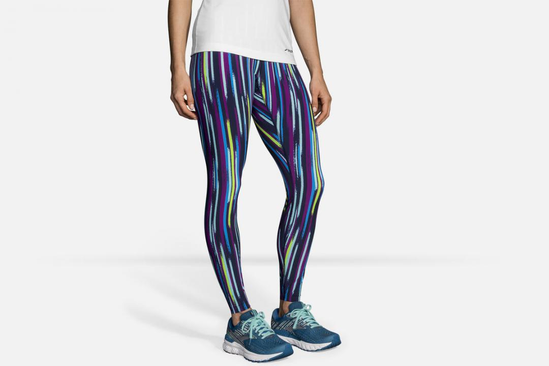 Laufhosen | Damen Brooks Ghost Tight Bleu