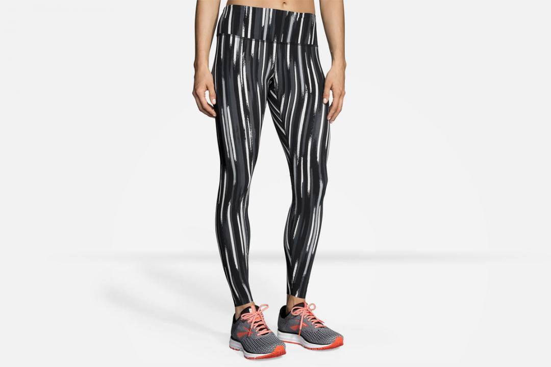 Laufhosen | Damen Brooks Ghost Tight Gris