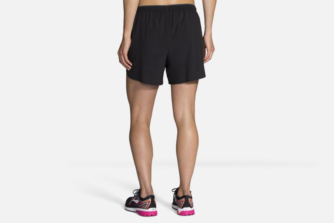 Laufhosen | Damen Brooks Go-To 5″ Short Noir
