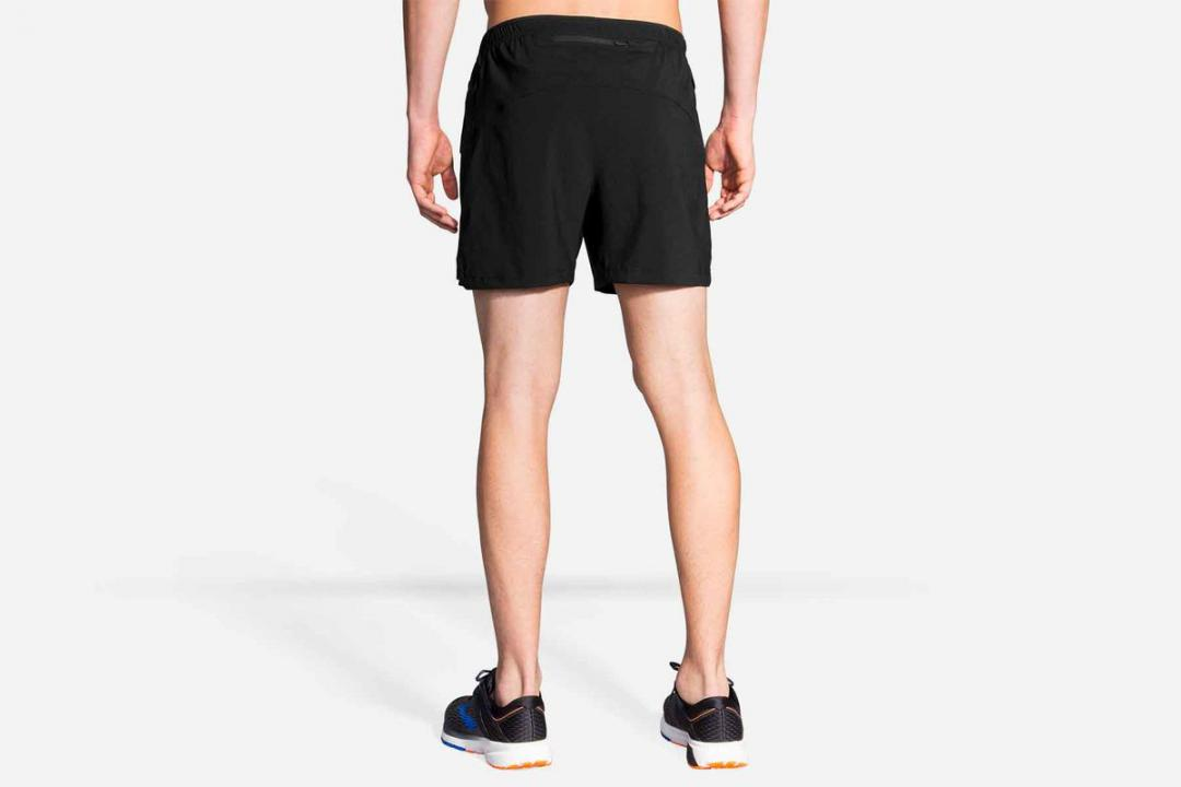 Laufhosen | Herren Brooks Sherpa 5″ Short Orange