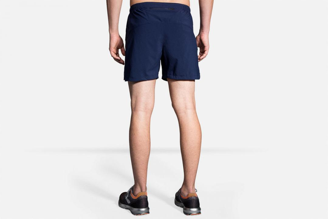 Laufhosen | Herren Brooks Sherpa 5″ Short Rose
