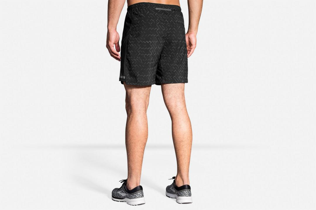 Laufhosen | Herren Brooks Sherpa 7″ 2-in-1 Short Rose