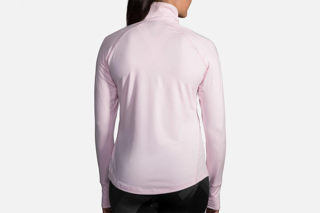 Lauftops | Damen Brooks Dash 1/2 Zip Violet
