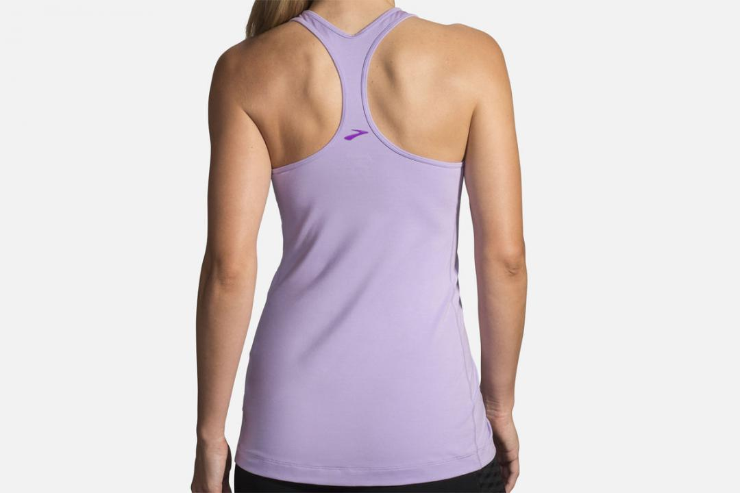 Lauftops | Damen Brooks Pick-Up Tank Violet