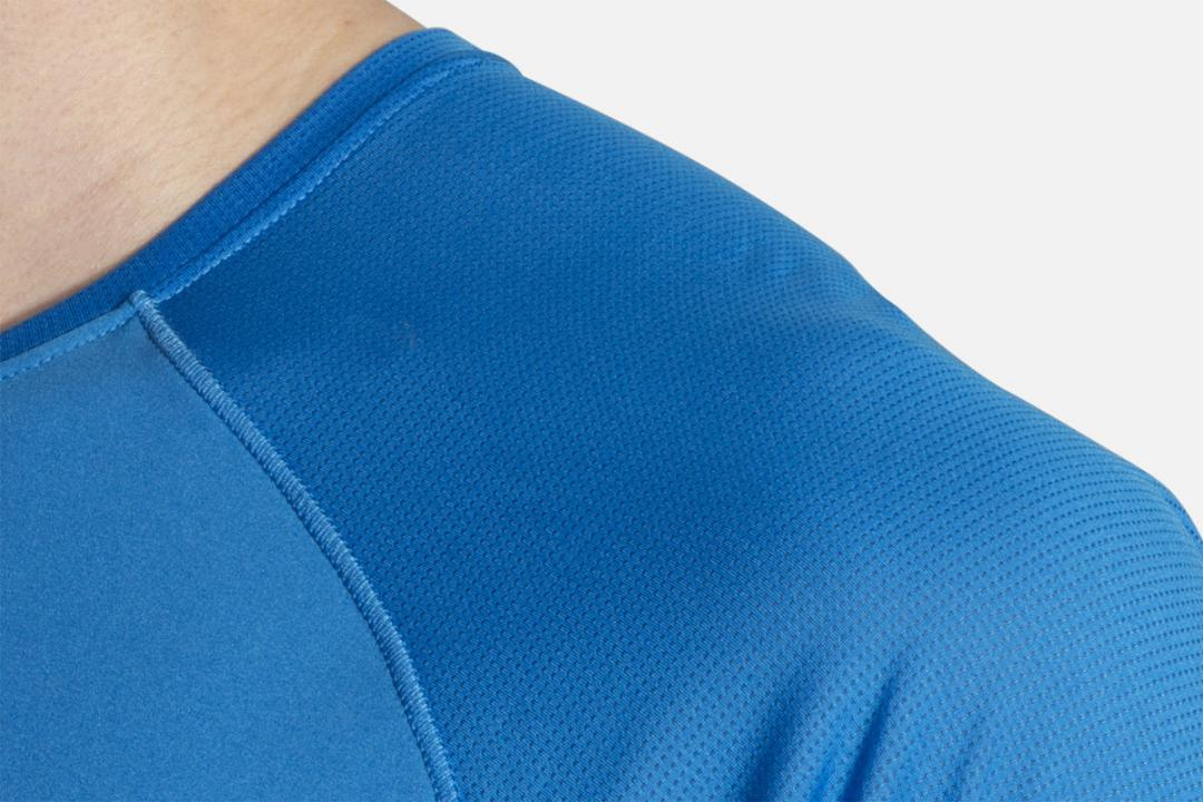 Lauftops | Herren Brooks Stealth Short Sleeve Bleu