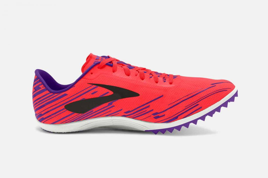 Track & Cross-Country | Damen Brooks Mach 18 Spikeless Rouge