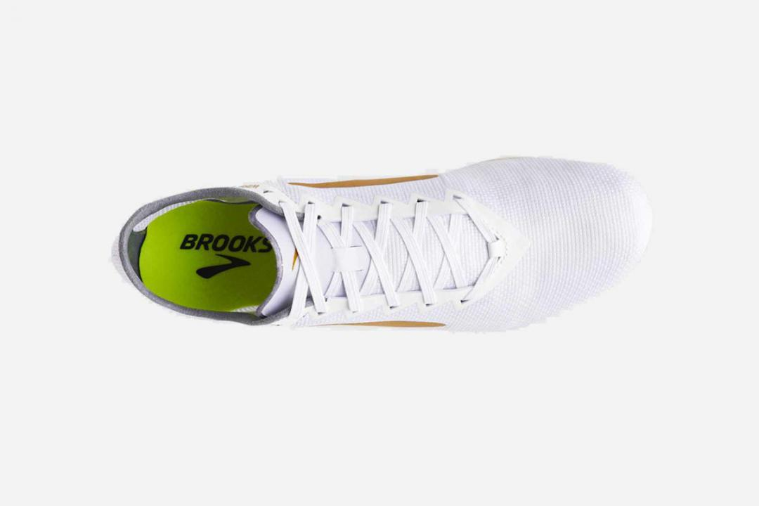 Track & Cross-Country | Herren Brooks Wire v5 Blanc