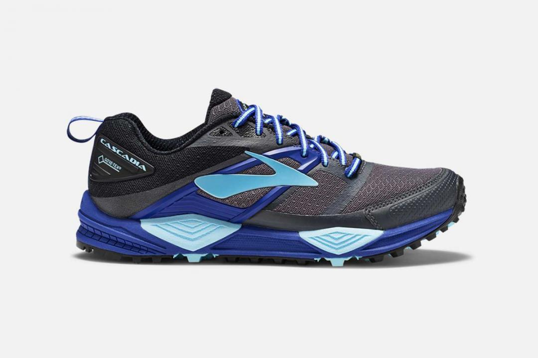 Trail | Damen Brooks Cascadia 12 GTX Bleu