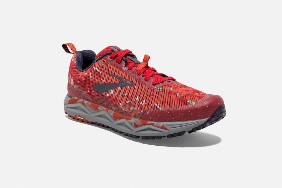 Trail | Herren Brooks Caldera 3 Rouge